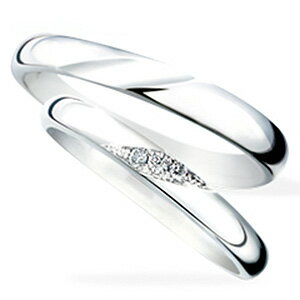 """サムシングブルーマリッジリング(結婚指輪)Will""""ウィル""""SB-858-SB-857"""