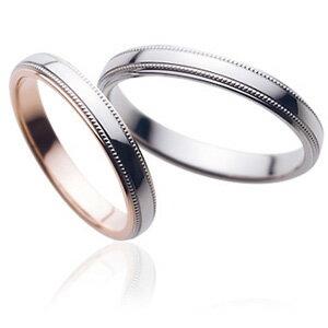 sarasa更紗マリッジリング(結婚指輪)SR-255-SR-256