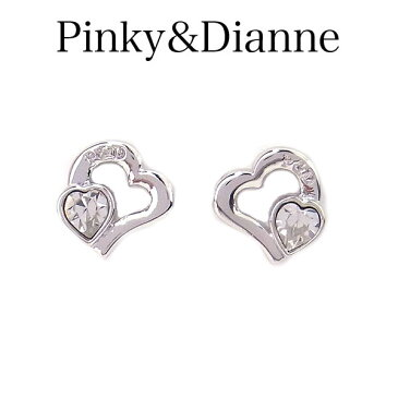 ピンキー&ダイアン ピアス Pinky&Dianne 8280 アクセサリー Check Heart 〜チェックハート〜 エクセルワールド ブランド プレゼントにも おしゃれ アクセサリー TP1