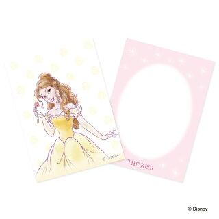 THEKISS【ディズニーコレクション】ディズニープリンセスベル/ピンクゴールドコーティングシルバーネックレス40cm