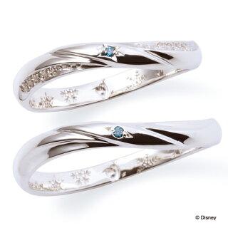 THEKISS/ザ・キッス/シルバーペアリングダイヤモンドSR6051-SR6052DM