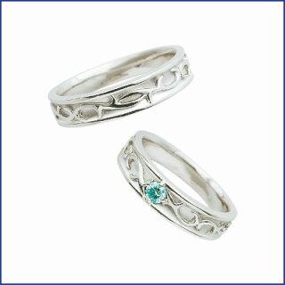 スウィートブルーダイヤモンドSWEETBLUEDIAMONDマリッジリング(結婚指輪)1231456-1231457