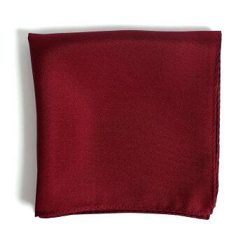 日本製シルク100%のポケットチーフ。豊富な色数の中からお好きなポケットチーフをお選び下さい。