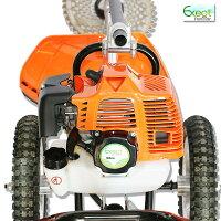 草刈り機52cc2ストロークエンジン式手押し式刈払い機家庭用