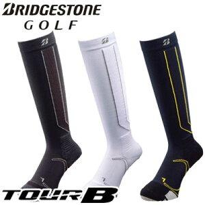 BRIDGESTONE GOLF (ブリヂストン ゴルフ) TOUR B 3Dソックス エキスパート ハイソックス メンズ SOG912