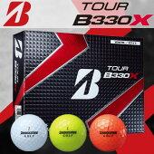 BRIDGESTONEGOLF(ブリヂストンゴルフ)TOURB330Xゴルフボール(1ダース:12球)