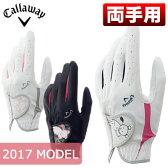 Callaway(キャロウェイ) Bear Dual レディース ゴルフ グローブ (両手用) 17 JM