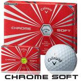 Callaway(キャロウェイ) CHROME SOFT 2016 ゴルフ ボール (12球)