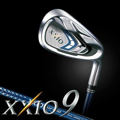 DUNLOP(ダンロップ) XXIO9 -ゼクシオ9- アイアン 5本セット (#6〜9、PW) MP900 カーボンシャフト