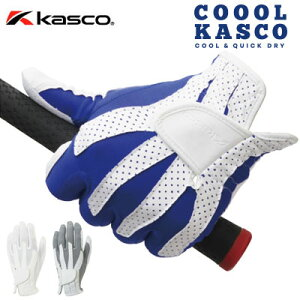 Kasco(キャスコ) クールキャスコ メンズ ゴルフ グローブ CF-1918 (左手用) [COOL KASCO][ネコポス発送][夏用] =