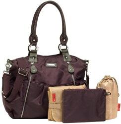 storksakストークサックオリビアmulberryパープルマザーズバッグ正規品ママバッグ軽量オムツ替えシート付2wayショルダーベルト