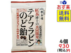 榮太樓 紅茶博士のテアフラビンのど飴 80g×4袋 賞味期限2021/12