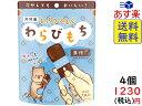 井村屋 もっちりぷるん わらびもち 黒糖 7本 ×4袋 賞味期限2022/03/30