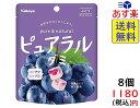 カバヤ ピュアラルグミ ぶどう 58g ×8袋 賞味期限2022/02