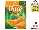 カンロ ピュレグミ プレミアム 国産熟メロン 54g ×6袋 賞味期限2021/09