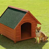 【送料無料】木製犬舎830 超小型~中型犬用(犬小屋、ペットハウス)