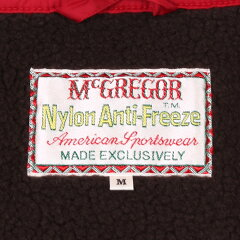 McGregor Nylon Anti-Freeze Jacket: Red