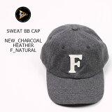 FELCO (フェルコ) SWEAT BB CAP - CHARCOAL HEATHER _ F NATURAL ベースボールキャップ メンズ レディース