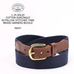 Leather Man Tab & Buckle Surcingle Belt