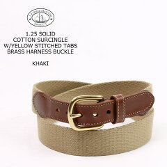 Leather Man Tab & Buckle Surcingle Belt