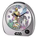 スターウォーズ 目覚し時計 BB-8 R2-D2 C-3PO デザイン