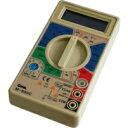 電気器具の故障診断、電池の寿命チェックにM-830C デジタルマルチテスター OHM(オーム電機) ...