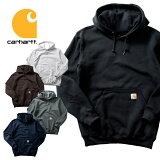 『CARHARTT/カーハート』crhtt-k121 MIDWEIGHT HOODED PULLOVER SWEATSHIRT / ミッドウェイト フードプルオーバー スウェットシャツ -全5色- 肉厚/裏起毛/パーカー/アメカジ [crhtt-k121]