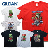 『GILDAN/ギルダン』RF201 Rat Fink S/S Tee /ラットフィンク ショートスリーブ Tシャツ -全6色-/ネズミ/R.F/海外/プリント/[rf201]