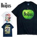 THE BEATLES / ビートルズ bra-2061 BEATLES PRINT TEE / ビートルズ プリント Tシャツ -全3色- コットン / ロゴ / シンプル / 半袖 / YELLOW SUBMARINE / APPLE LOGO / BAND / バンド / リンゴ / [bra-2061]