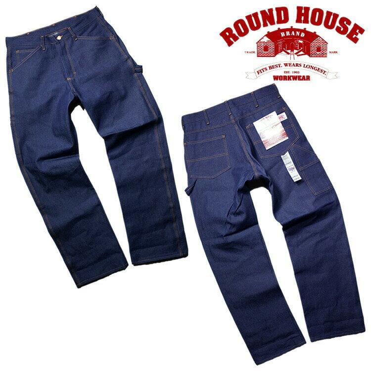 メンズファッション, ズボン・パンツ ROUND HOUSE17RH101 5POCKET CARPENTER DUNGAREE JEANS 5 -- made in USA14oz17RH101