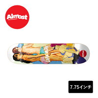 ALMOSTDECKスケートボードデッキ7.75インチ【LADYPABLODAEWONIMPACTLIGHT】スケボーオールモストSKATEBOARD