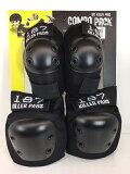 送料無料 スケートボード 二ー&エルボー プロテクターセット 【 COMBO PACK 】 187 killerpads COMBO PACK ヒザ ヒジ パッド リップスティック