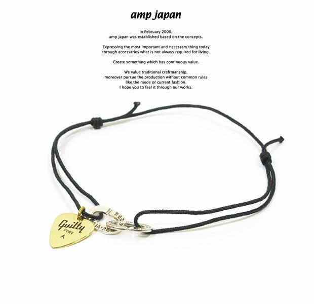 メンズジュエリー・アクセサリー, ペンダントトップ amp japan 9AH-200 Pick Code Bracelet AMP JAPAN