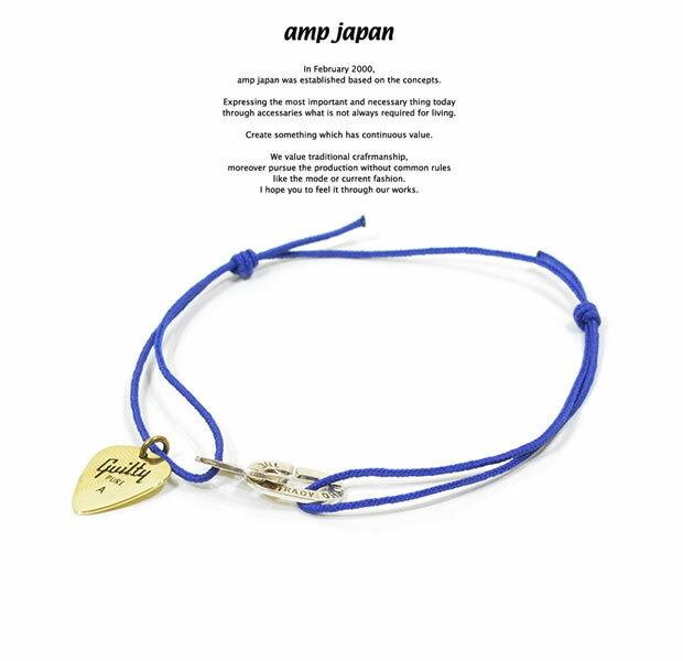 メンズジュエリー・アクセサリー, ペンダントトップ amp japan 9AH-200 Pick Code BraceletAMP JAPAN