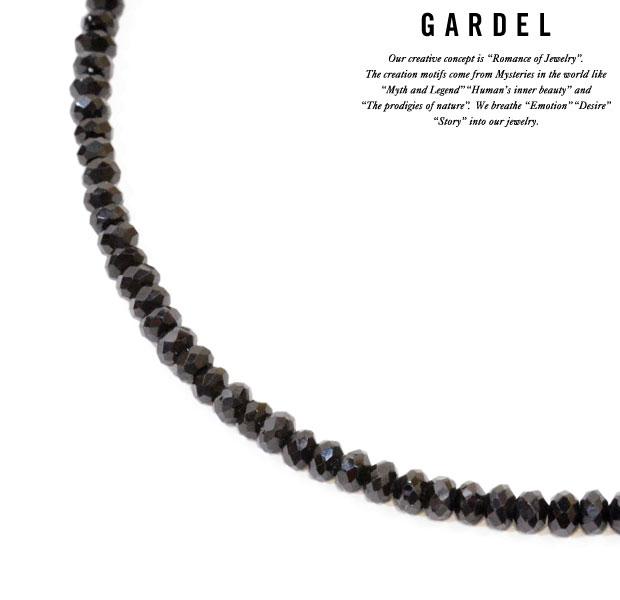 メンズジュエリー・アクセサリー, ペンダントトップ GARDEL B.SP Necklace 50cm Blackpendantsilver925SV925