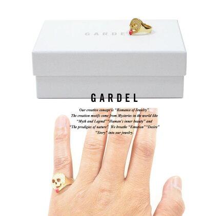 GARDELガーデルgdr067LRAPTURESKULLRINGリング/RINGK18GOLD/ゴールド天然石/ダイヤモンド/DIAMONDメンズ/レディース/シンプルアクセサリー/ジュエリー