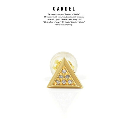 GARDELガーデルGDE-051/K18YGBABYTPIERCEピアス18金GOLDゴールド