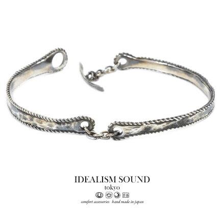 idealismsoundイデアリズムサウンドids119009sブレスレット/braceletシルバー/silverアンティーク/ハンドメイドメンズ/レディース/アクセサリー【対応】