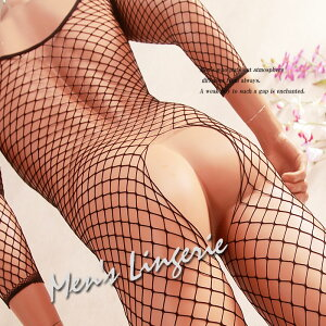 網×網の魅力ってあなた本当に知ってます?☆超セクシー型メンズボディストッキング網タイツ ...