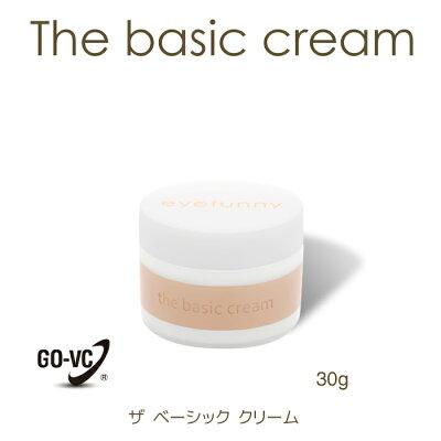eyefunnybeauty((ザベーシッククリーム))国産ノンシリコン無香料ビタミンc誘導体GOVCseramideセラミド