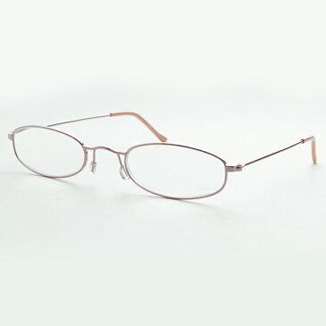 アクト 老眼鏡 リーディンググラス GZ08 ピンク コンパクト 選べる度数 シンプル