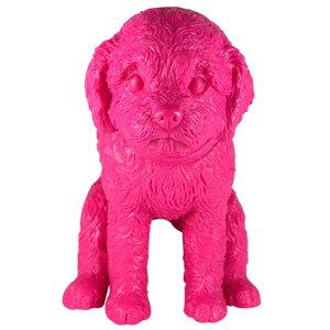 SquattingDogいきむ犬toypoodle(HarajukuPink)送料無料!!