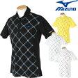MIZUNO(ミズノ)半袖シャツ52MA6008「春夏ゴルフウエアs7」【あす楽対応】