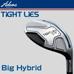 Adams Golf(アダムスゴルフ)日本正規品TIGHT LIES(タイトライズ)ビッグハイブリッド(ユーティリティ)タイトライズ専用TL−2カーボンシャフト...