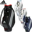 adidas Golf(アディダスゴルフ)日本正規品 TOUR MOLD DESIGN BAG(ツアーモールドデザインバッグ) 2020モデル ゴルフキャディバッグ 「GUW08」 【あす楽対応】・・・