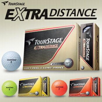 2014新製品ブリヂストンツアーステージEXTRADISTANCEエクストラディスタンスゴルフボール1ダース(12個入)【あす楽対応_四国】