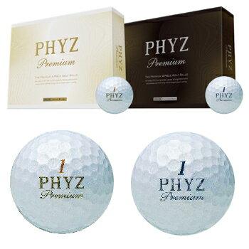 ブリヂストン日本正規品PHYZPremium(ファイズプレミアム)ゴルフボール1ダース(12個入) あす楽対応