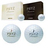 ブリヂストン日本正規品PHYZ Premium(ファイズプレミアム)ゴルフボール1ダース(12個入)【あす楽対応】