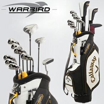 2016新製品キャロウェイ日本正規品WARBIRDSETウォーバードメンズ10点ゴルフクラブフルセットキャディバッグ付き※3月18日発売予定御予約受付中※