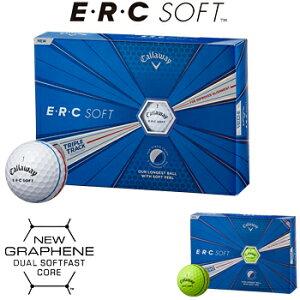 Callaway(キャロウェイ)日本正規品 ERC SOFT(イーアールシーソフト) 2019新製品 ゴルフボール1ダース(12個入)【あす楽対応】